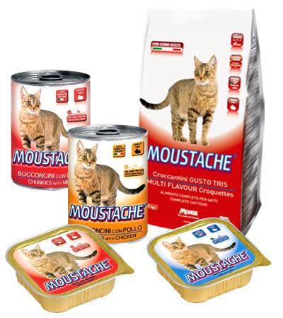 Moustache alimento gatto
