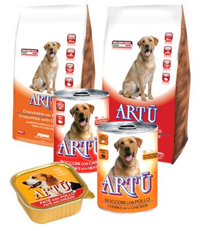 Re Artù alimenti cane