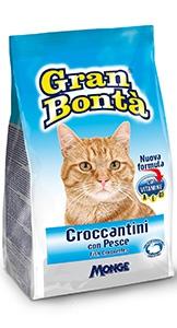 gran bonta gatto croccantini con pesce