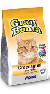 gran bonta gatto croccantini con pollo