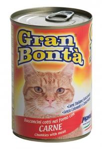 gran bonta gatto umido bocconcini con carne