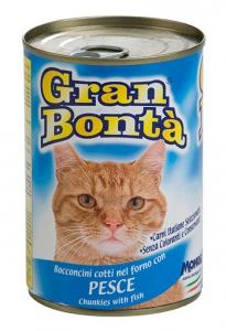 gran bonta gatto umido bocconcini con pesce