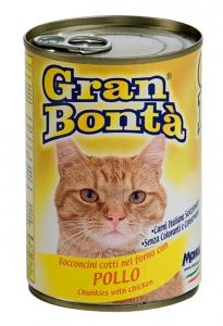 gran bonta gatto umido bocconcini con pollo
