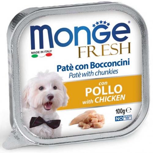 monge_cane_umido_fresh_pate_e_bocconcini_con_pollo