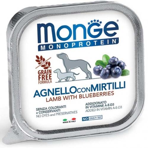 monge_cane_umido_monoproteico_agnello_e_mirtilli