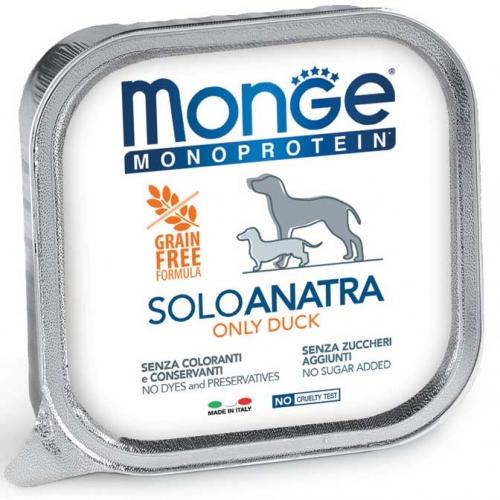 monge_cane_umido_monoproteico_solo_anatra