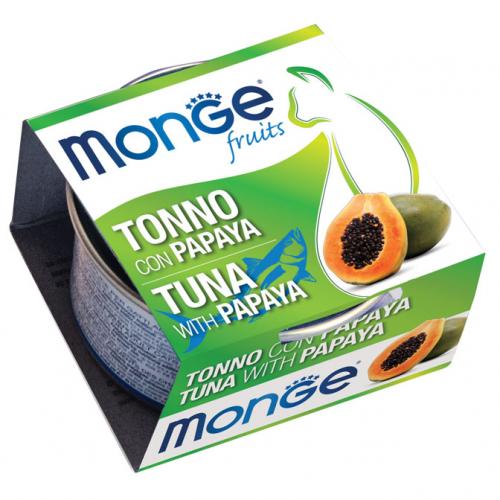 monge_gatto_umido_fruits_tonno_con_papaya
