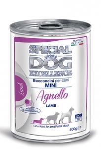 special dog excellence cane umido bocconi e bocconcini bocconcini con agnello adult mini