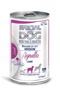 special dog excellence cane umido bocconi e bocconcini bocconi con agnello adult medium