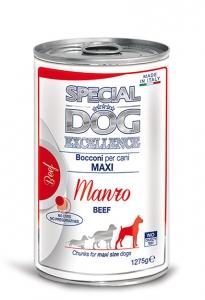 special dog excellence cane umido bocconi e bocconcini bocconi con manzo adult maxi