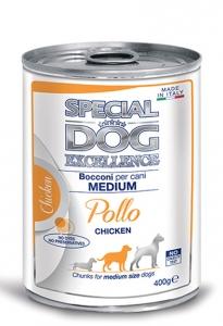 special dog excellence cane umido bocconi e bocconcini bocconi con pollo adult medium