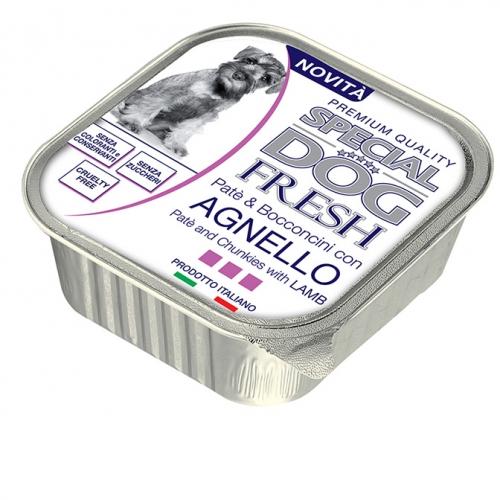 special_dog_excellence_cane_umido_fresh_pate_e_bocconcini_con_agnello