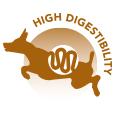 High digestibility