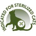 Indicado para gatos esterilizados.