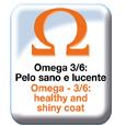 Omega 3/6, pelo sano e lucente