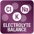 Aumentato contenuto di elettroliti - Compensa le perdite d'acqua dell'intestino