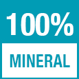 100% mineral