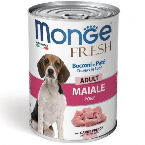 monge_cane_umido_fresh_bocconi_in_Pate_con_maiale