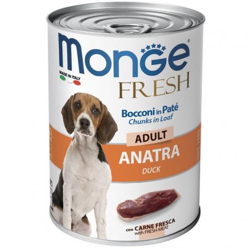 monge_cane_umido_fresh_bocconi_in_Pate_con_anatra