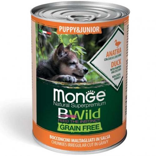 monge_cane_umido_bwild_bocconi_maltagliati_anatra_con_zucca_e_zucchine_puppy_e_junior
