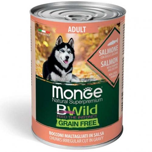 monge_cane_umido_bwild_bocconi_maltagliati_salmone_con_zucca_e_zucchine_adult