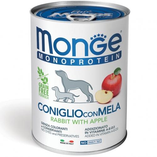 monge_cane_umido_monoproteico_coniglio_con_mela_400g