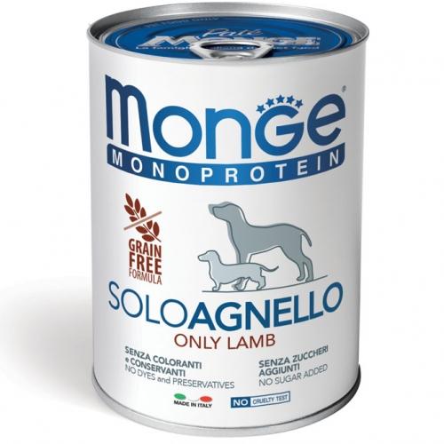 monge_cane_umido_monoproteico_solo_agnello_400g