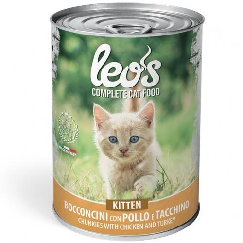 monge_gatto_umido_leo's_bocconcini_con_pollo_e_tacchino_kitten